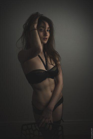 photo lingerie noir