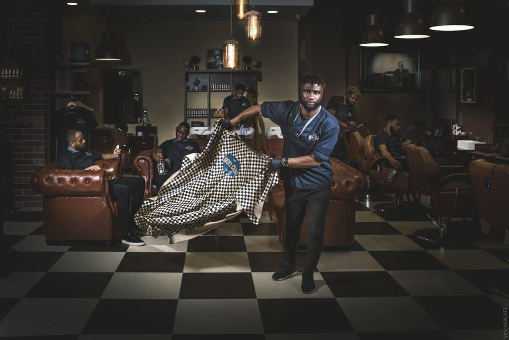 barbier barbershop portrait