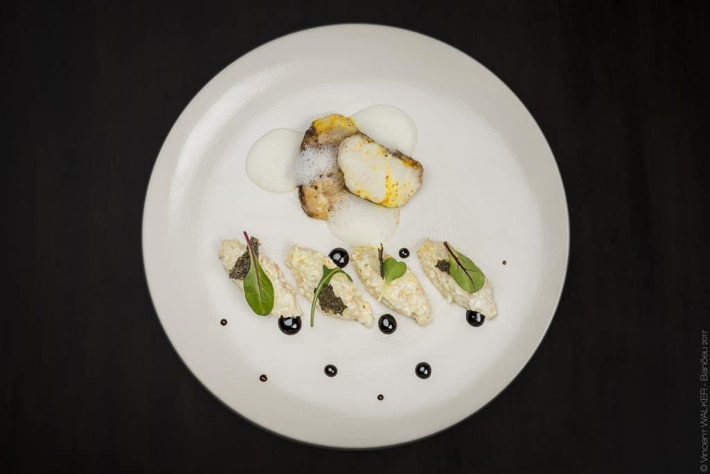 photo culinaire poisson assiette