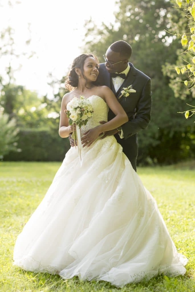 photos de mariage dans le parc dammarie les lys