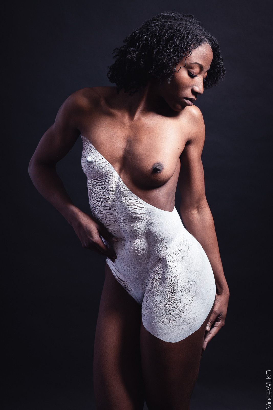 bodypainting fond noir photographe vincewlkr