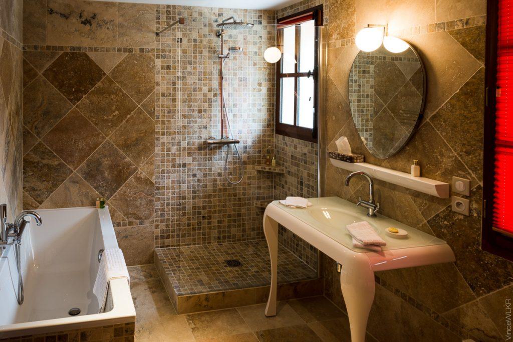 Salle de bain à Barbizon
