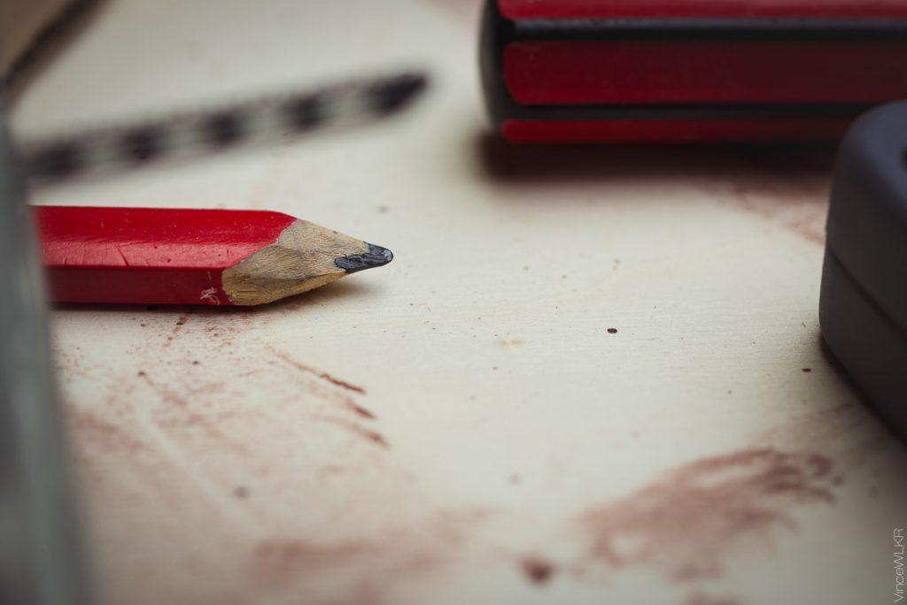 crayon de bricolage