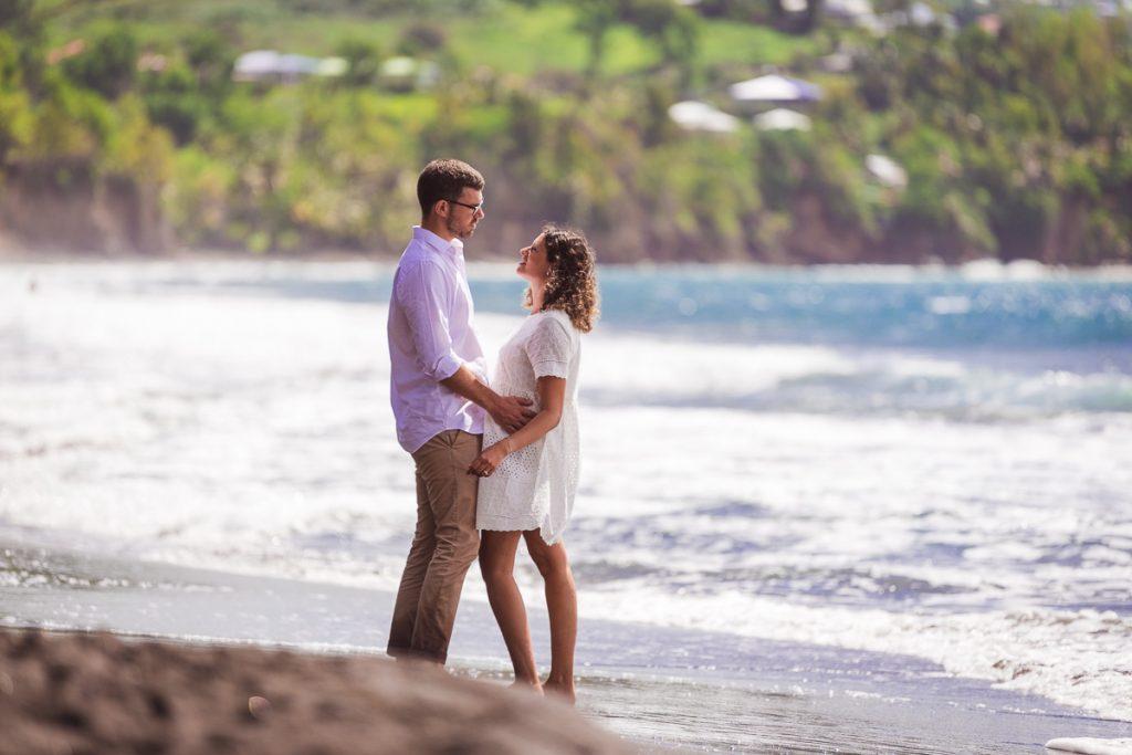 couple sur la plage