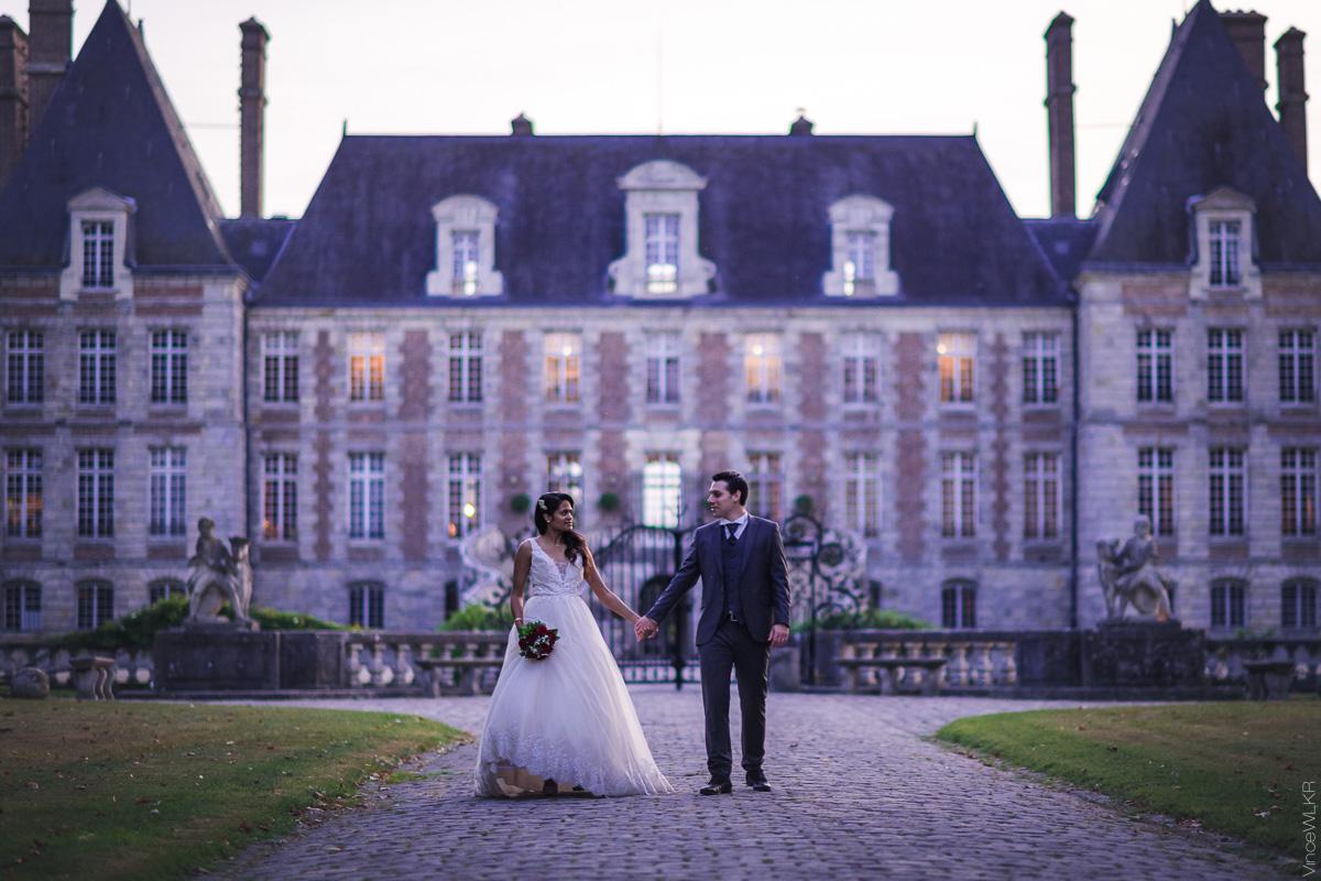 mariage château de courance