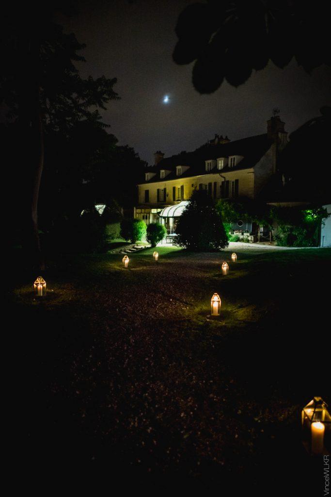domaine de nuit mariage photo