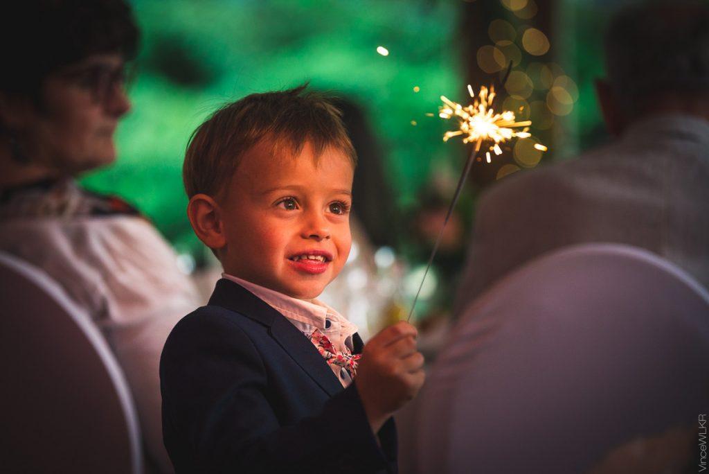 scintillant enfant mariage