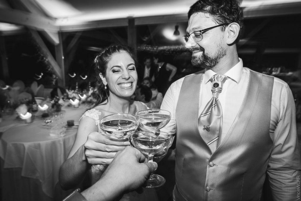 coupe de champagne mariage photo