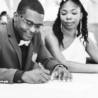signature du marié à la mairie