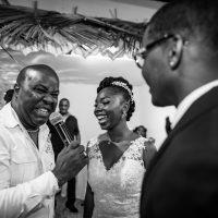 ambianceur avec les mariés