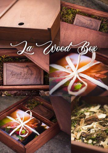 boite en bois packaging
